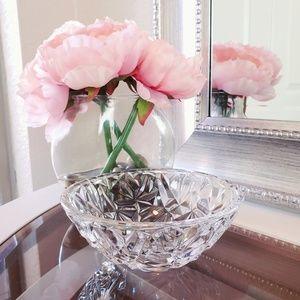 Tiffany & Co. Small Rock Cut Crystal Trinket Bowl